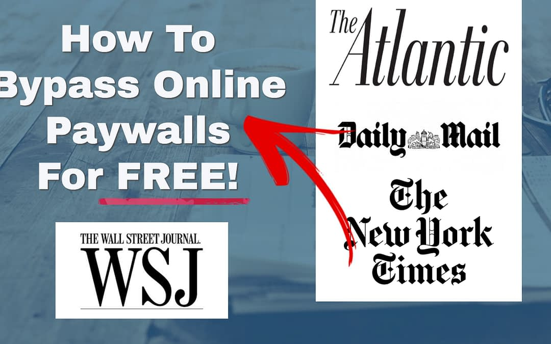 how to bypass paywall online