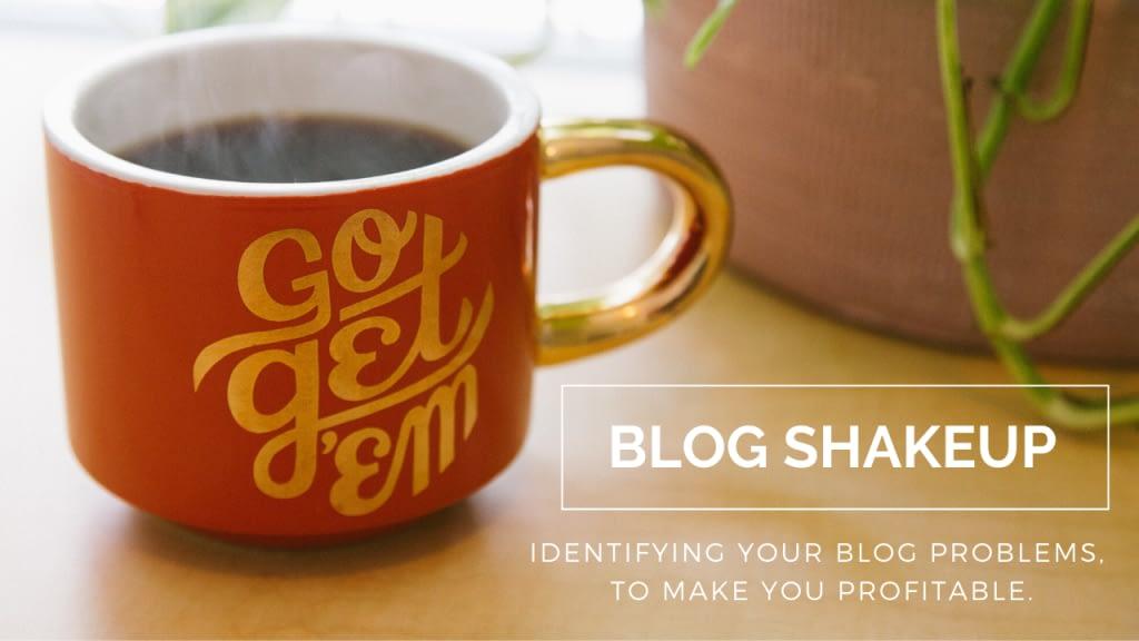 Blog Shakeup
