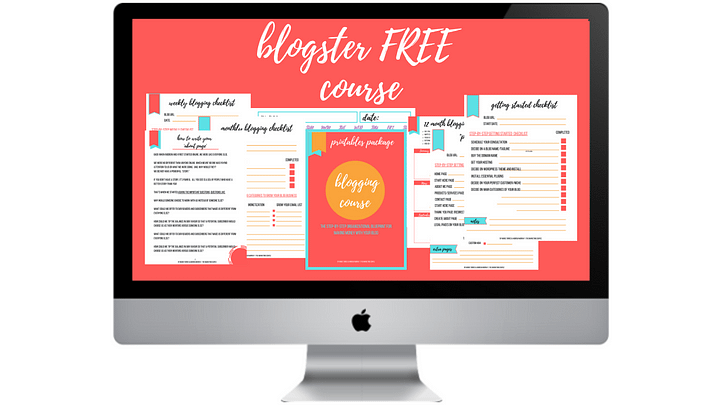 free blogging course