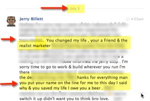 Jerry Billett – The REAL Truth